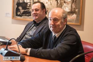 Tommaso Barbanera con il sindaco Cardarelli