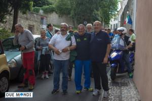 Moreno Carlini, Nino Montanari e Fabrizio Cardarelli