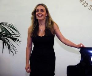 28/06/2015 58 Festival Di Spoleto. Musica, Concerto Pianistico, Palazzo Ancaiani Sala Ermini. Nella foto Laura Magnani