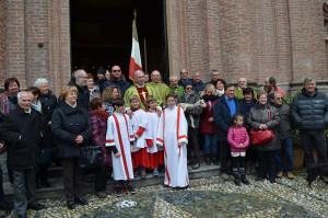 Foto al termine della Messa