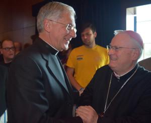 Card. Bassetti e Arcivescovo Boccardo