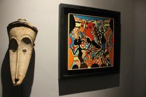 Sezione_arte_africana_mostra