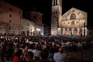 60 Festival di Spoleto. Piazza Duomo, concerto di Fiorella Mannoia