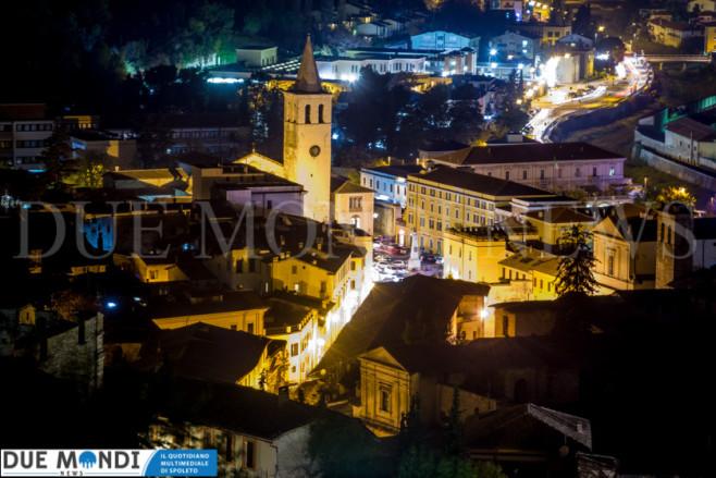 Panorama_Spoleto_Notte-2