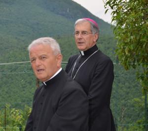 L'Arcivescovo e mons. Eugenio Bartoli