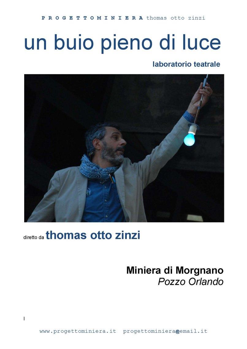 Un buio pieno di luce workshop teatrale