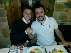 Fedeli e Salvini
