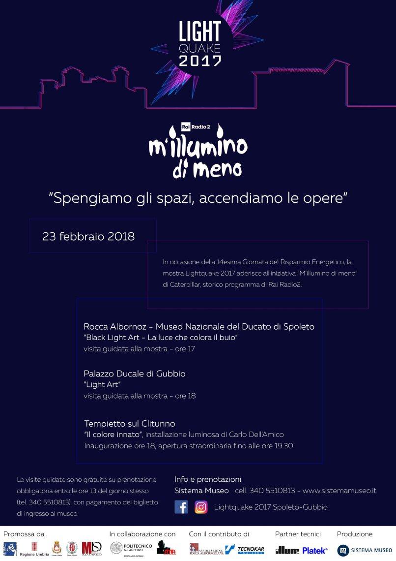 Locandina_Millumino di meno_Lightquake