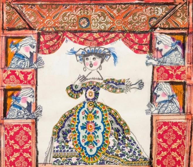 per le immagini di Lele Luzzati C Nugae srl - Museo Luzzati a Porta Sibe...