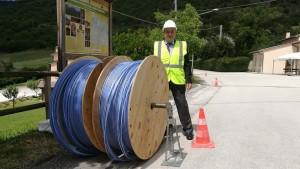 open fiber bobina 2 km