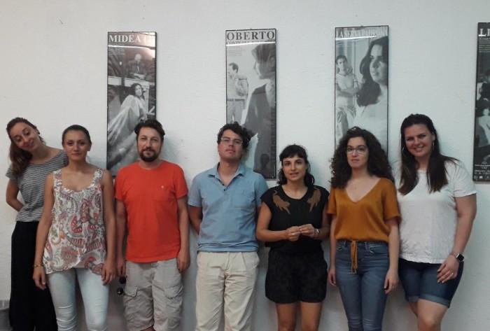 Da sin. Maira Elena Fusacchia, Livia Rado, Filippo Perocco, Riccardo Faz...