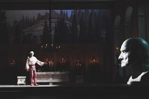 27/06/2017 60 Festival dei 2 Mondi di Spoleto. Teatro Nuovo, Opera lirica Don Giovanni. Nella foto Don Giovanni Dimitris Tiliakos