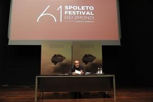 23/05/2018 Roma Maxxi. Conferenza stampa della presentazione del 61 Spoleto Festival dei 2 Mondi, nella foto il direttore Giorgio Ferrara