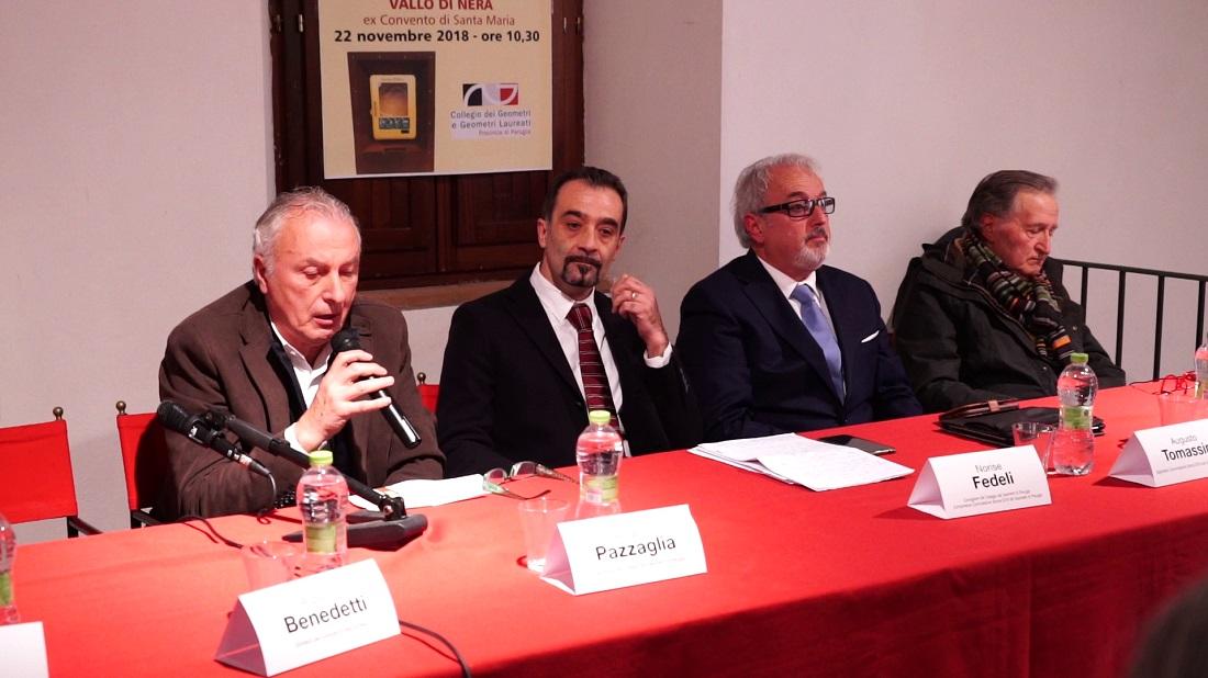 Da sinistra Angelo Pazzaglia Norise Fedeli Augusto Tomassini Ezio Viola