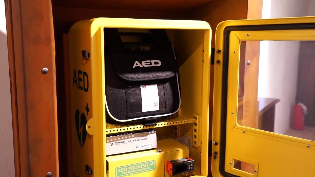 Uno dei defibrillatori